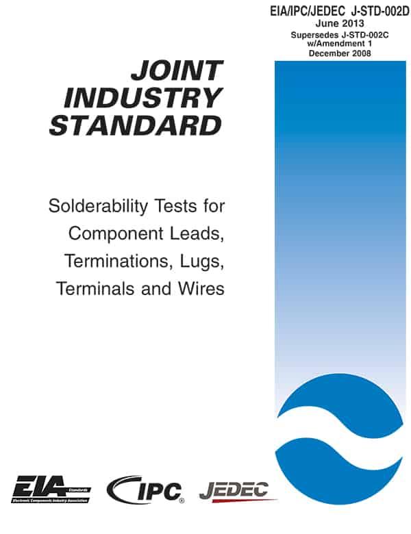 EIA/IPC/JEDEC J-STD-002D