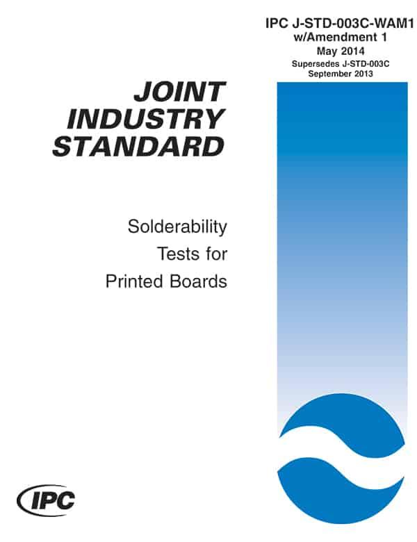 IPC J-STD-003C-WAM1